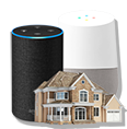 Alexa Google Home House Search